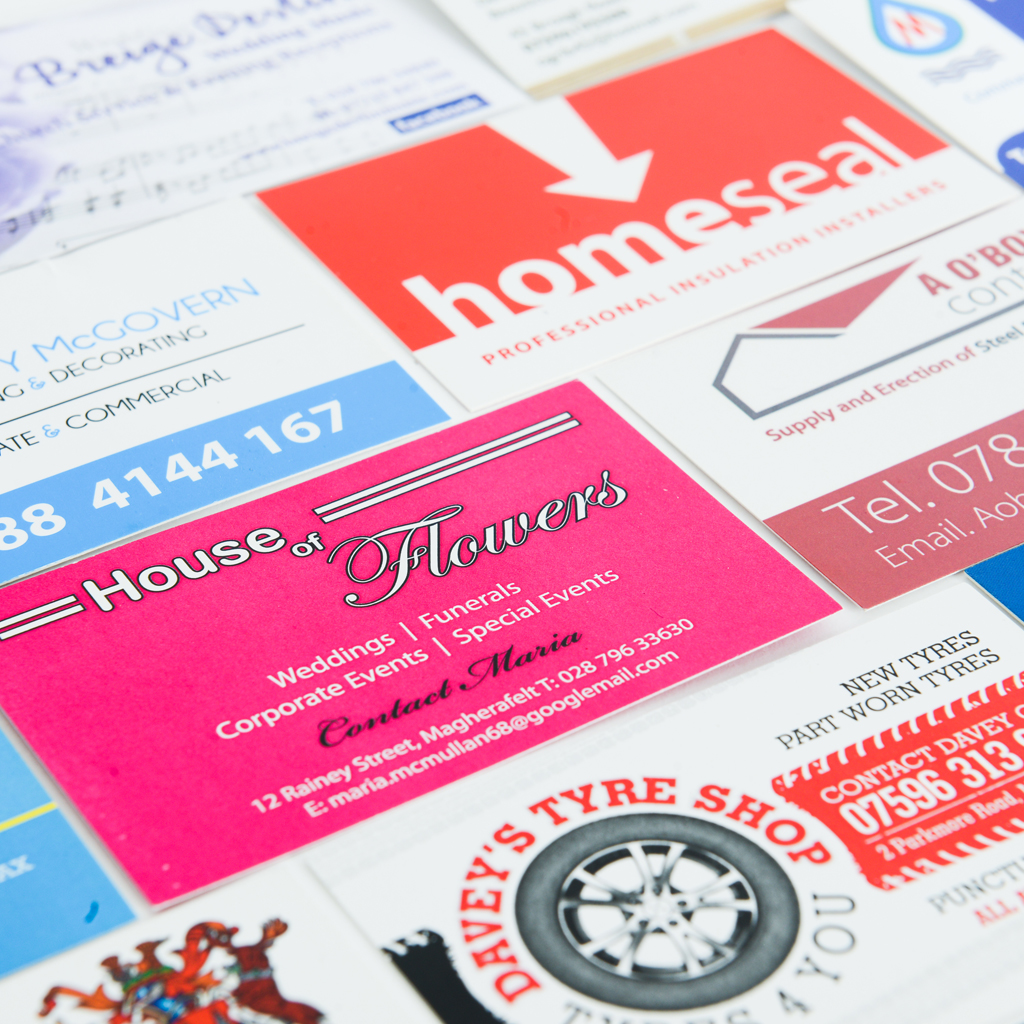 Laminated Business Cards Northern Ireland | Laminated Business ...